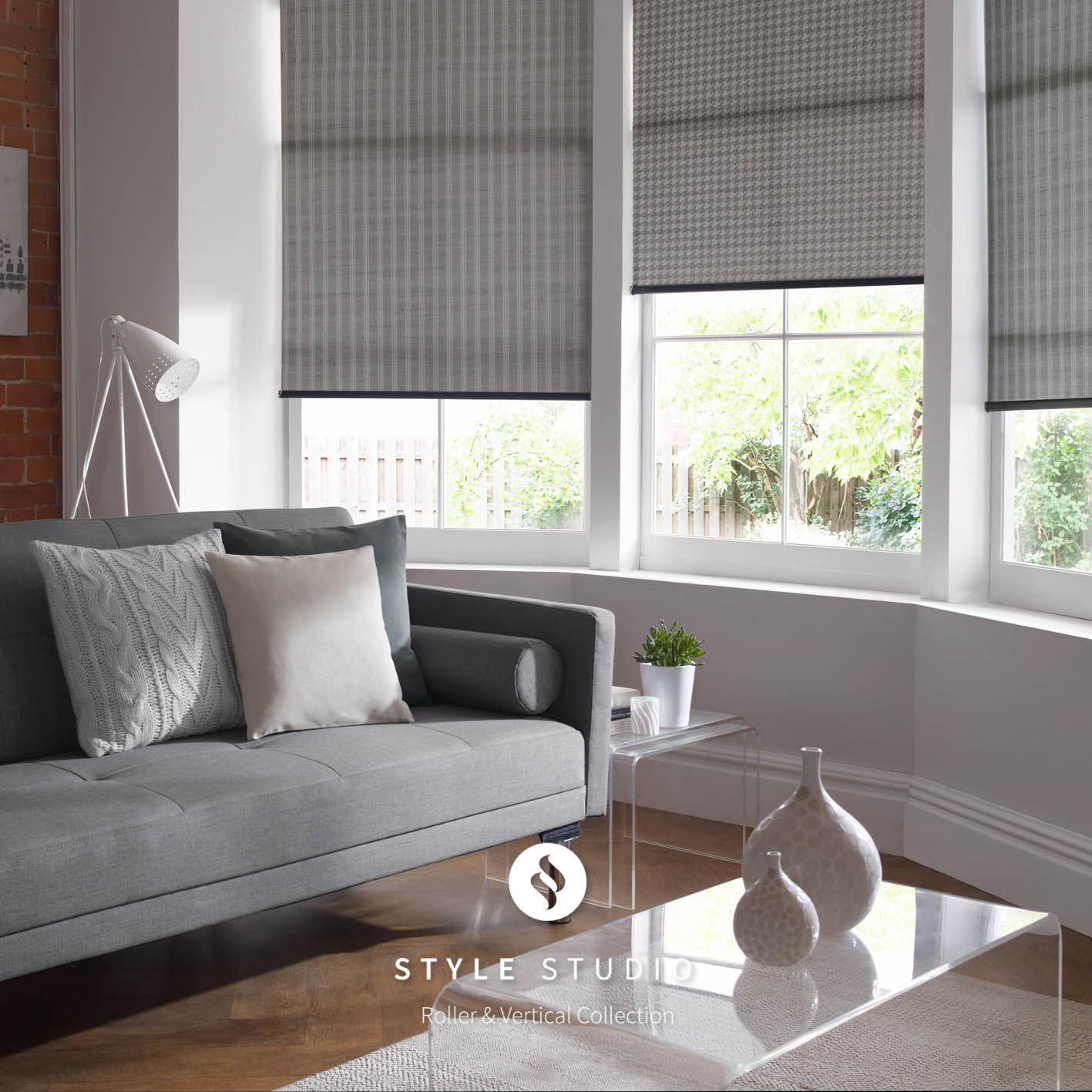 blinds for living room. Bute and Iona Charcoal Living Room Roller Blinds Warrington Runcorn  4 You
