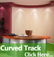 Curved Track Vertical Blinds Warrington Runcorn Cheshire