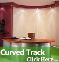 Curved Track Vertical Blinds Warrington Runcorn Cheshire